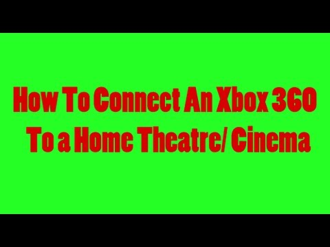 How To Connect An Xbox 360 To Surround Sound With An AV Cable