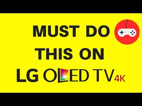 Must do this on lg oled tv for gaming