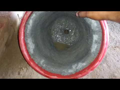 How to make small cement or concrete pots. DIY Planters