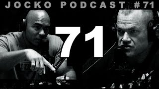 "Jocko Podcast 71 with Echo Charles: Heroes are Not Perfect. Never Judge. ""A Helmet for my Pillow"""