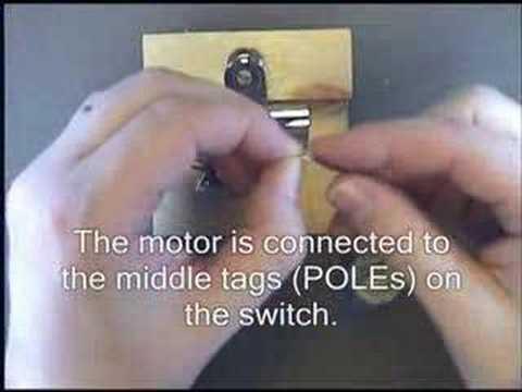 Reversing a motor
