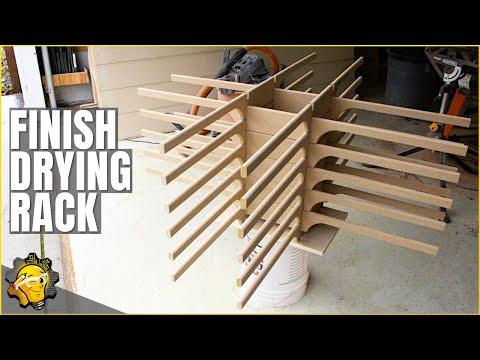 Build a Budget Finishing Drying Rack