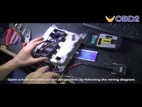 How To Read BMW  Engine ECU ISN with VVDI PROG