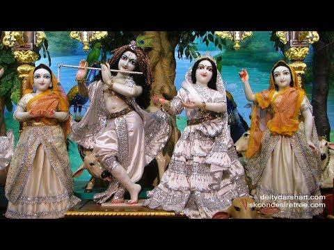 Sri Sri Radha Gopinath Temple Mangal Arati Darshan 30th May 2018 Live from ISKCON Chowpatty,Mumbai
