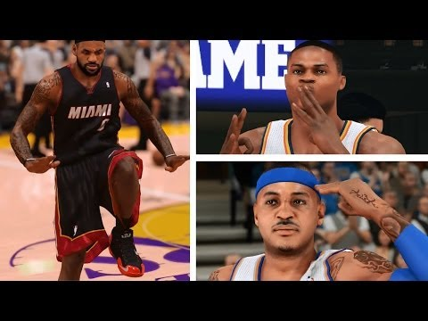 PS4 NBA 2K14 Montage: Signature Emotion