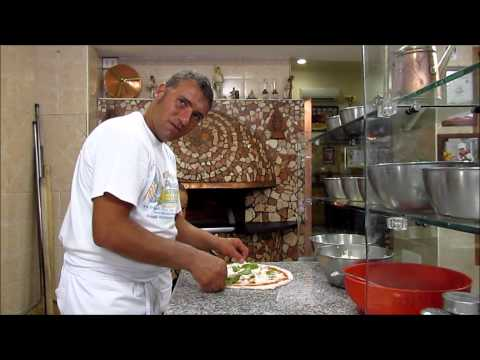 The Making of an Authentic Neapolitan Pizza Margherita