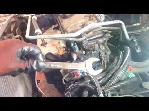 How to Change Replace Coolant Water Temperature Sensor Peugeot 206 Amateur Repairs