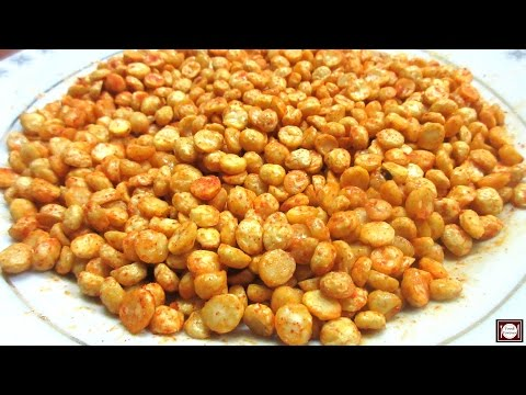 Namkeen Chana Dal Recipe - Chana Dal Namkeen - Fried Chana Dal - Spicy Snack Recipe