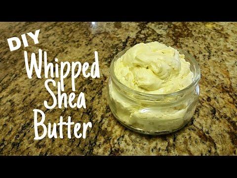 DIY Whipped Shea Butter