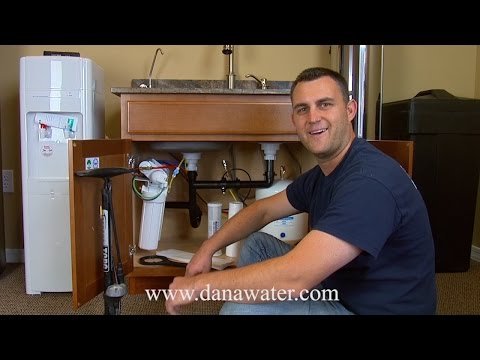 How to Change Filters in your under sink RO system DYI