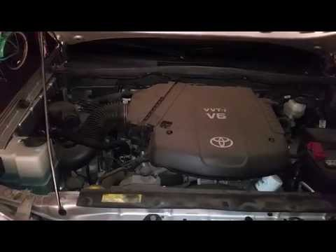 2005-2015 Toyota Tacoma 1GR-FE 4.0L V6 Engine Idling After Oil Change & Spark Plugs
