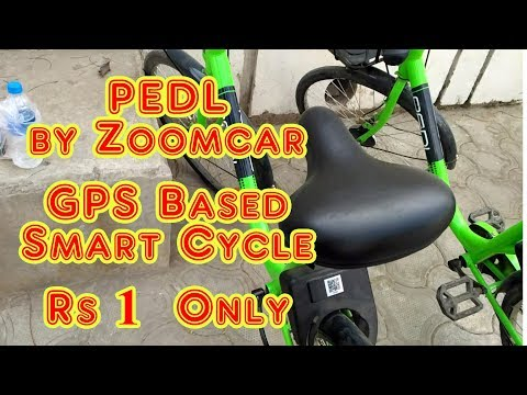 PEDL by Zoomcar - GPS Based Smart Cycle on Rent | Som Tips