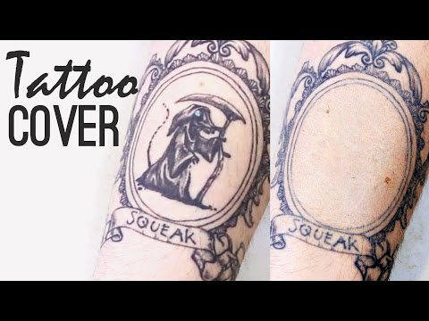 How to cover up a tattoo: waterproof, transfer-proof, long lasting | Freakmo