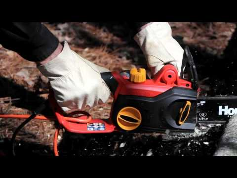 Homelite 14 in Electric Chain Saw.mp4