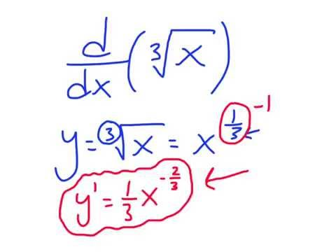 Calculus: The Derivative of Cube Root of X