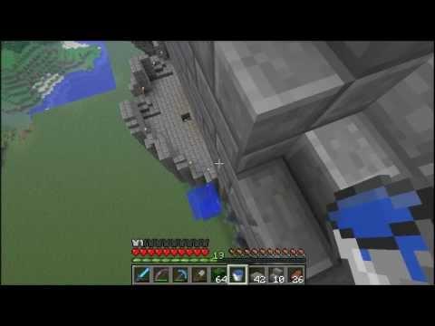 Minecraft Castle Progress Episode 4:  The Battlements