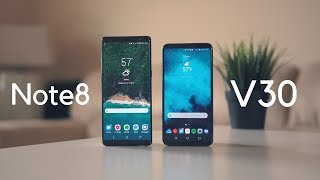 LG V30 vs Galaxy Note8: Battle of the Fall flagships