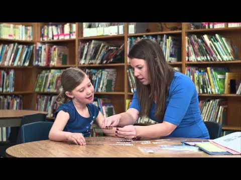 Volunteering with Strong Start's Letters, Sounds and Words Program