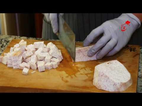 steam taro with chicken - Leo's Kitchen Taiwan(芋頭燒雞)