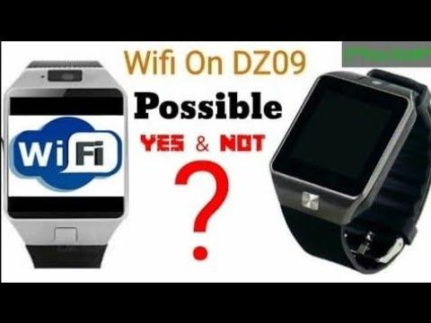 WiFi on Smart watch DZ09    How to Open WiFi setting      