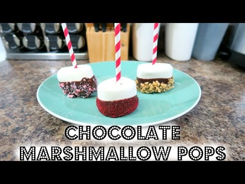 How To Make Chocolate Covered Marshmallows!