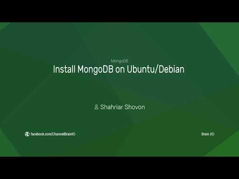 Install MongoDB on Ubuntu/Debian