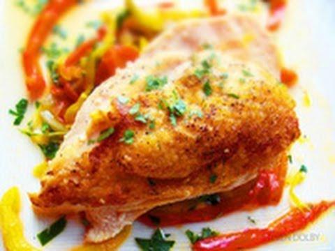 chicken breast with a pepper pot sauce recipe
