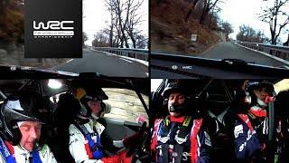 WRC - Rallye Monte-Carlo 2017: Evans vs. Sordo SS14
