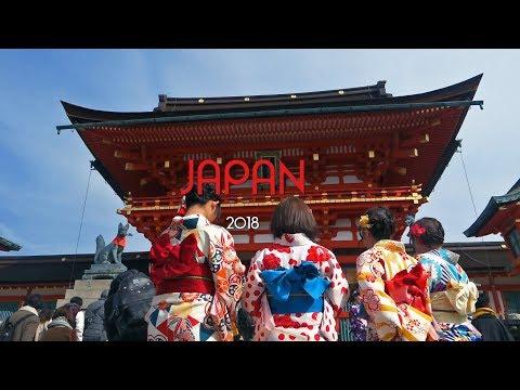 JAPAN 2018 - travel video - Tokyo // Kyoto //  Osaka // Disneyland