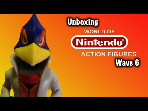 World of Nintendo Wave 6 Unboxing! Falco, Para Troopa, Toon Link, and More