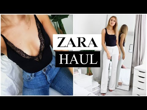 HUGE ZARA HAUL | TRY ON | APRIL 2018