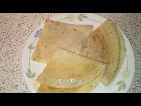 Oats Dosa Recipe / Oats Dosa in Telugu