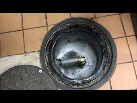 Grease Trap Kitchen Odor Elimination and Cleaning Video