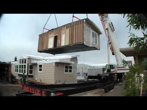 Modular Homes Half Moon Bay, CA - raw video Home Set
