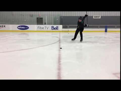 Baron Hockey Stick Testing