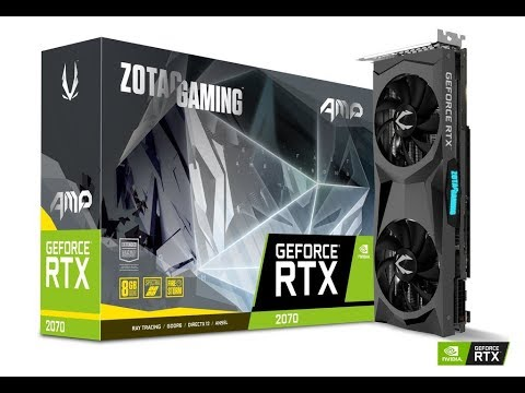 ZOTAC GeForce RTX 2070 AMP Review and Benchmarks