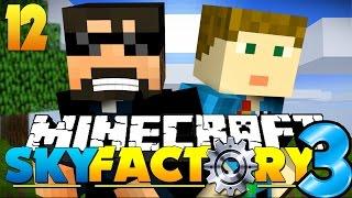 Minecraft: SkyFactory 3 - I BUILT AN EPIC MACHINE!! [12]