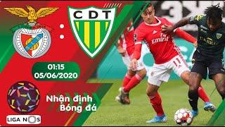 Nhận định, soi kèo Benfica vs Tondela 01h15 ngày 05/06 - Vòng 25 - Liga Nos 2019/2020