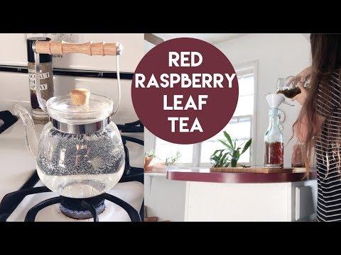 How to make Red Raspberry Leaf Tea