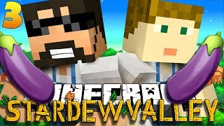 Minecraft: STARDEW VALLEY | EGGPLANT EMOJI?! #3 🍆