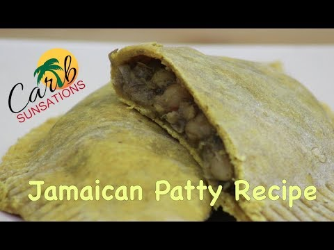 Jamaican Patties Recipe: How To Make Patty Crust (Vegan)