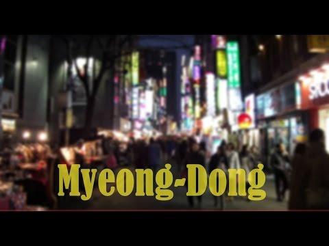 Myeongdong street walk & shop