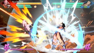"""NEW SCREENSHOTS ULTIMATE GOHAN, BUU, SSJ3 GOTENKS"" - Dragon Ball FighterZ (1080p)"