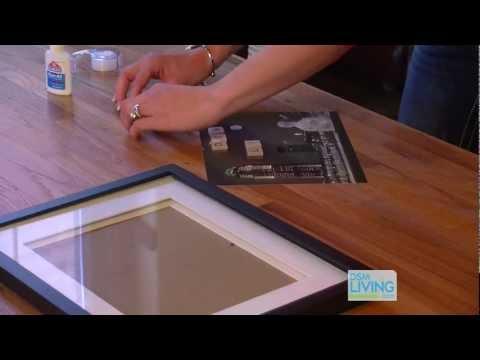 DIY Scrabble Picture Frame