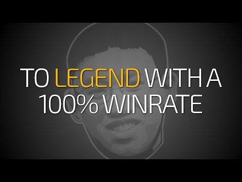 Hearthstone: Reaching Legend Rank With a 100% Winrate (Murloc Paladin)