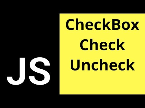 Javascript Checkbox - How To Check If A Check Box Is Checked Or Not  [ with source code ]
