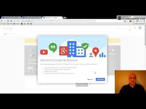 Google My Business Verification Codes