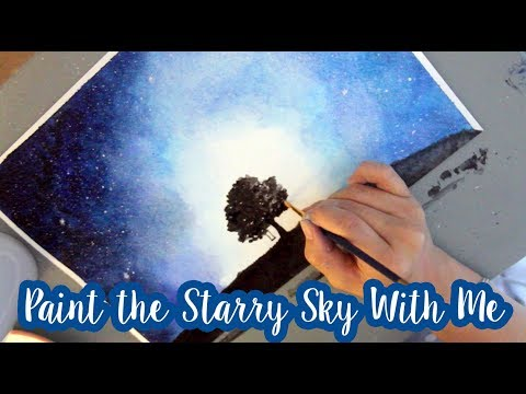 Paint The Galaxy Sky With Me