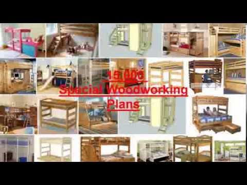 Top Bunk Bed Plans and Projects