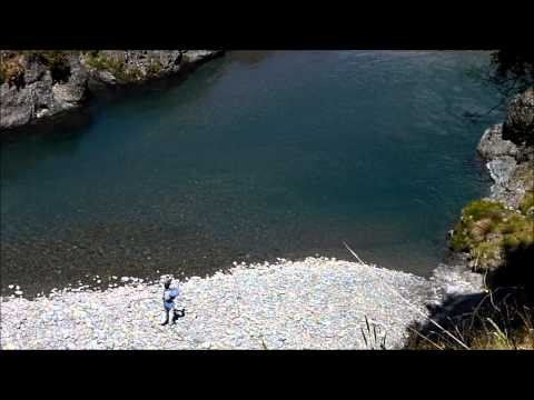 Dry fly out of deep water | Fly Fishing, Canterbury New Zealand